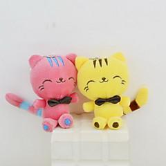 baratos -Stuffed Toys Animais de Pelúcia Brinquedos Gato Casamento Fofinho Animais Decorativa Casamento Adulto 1 Peças
