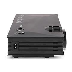 baratos Projetores-UNIC ZHG-UC46BG LCD Projetor para Home Theater LED Projetor 1200 lm Apoio, suporte 720P (1280x720) 34-130 polegada Tela / WVGA (800x480) / ±15°