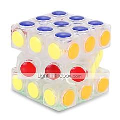 tanie Kostki Rubika-Kostka Rubika Alien 3*3*3 Gładka Prędkość Cube Kostki Rubika Puzzle Cube Zwalnia ADD, ADHD, niepokój, autyzm Zabawki biurkowe Stres i