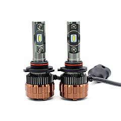 billige Frontlykter til bil-SO.K 2pcs Bil Elpærer Integrert LED 2 Hodelykt Til Alle år