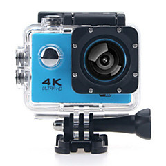 cheap Sports Action Cameras-Sports Action Camera 4K  WIFI Waterproof 12MP High Defenition 2.0 Inch Sports DV 170 Degree  Yellow