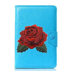 povoljno -univerzalni cvijet pu kožni štand kućište za 7 inčni 8 inčni 9 inčni 10 inčni tablet pc