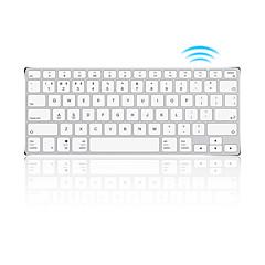 billiga Keyboards-AJAZZ ak3.1 Trådlös 78 Membran Keyboard Mini Bärbar Uppladdningsbar