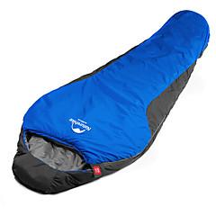 preiswerte Camping, Wandern & Trekking-Schlafsack Draussen Einzelbett(150 x 200 cm) 5 °C Mumienschlafsack Polyester Tragbar warm halten zum Camping Draußen Camping & Wandern Erholung im Freien