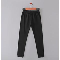 billige Bukser og leggings til piger-Baby Pige Normal Ensfarvet Nylon Bukser Lyserød