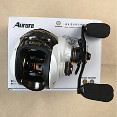 cheap Fishing Reels-Baitcasting Reels 6.3:1 Gear Ratio+12 Ball Bearings Left-handed Right-handed Sea Fishing Fly Fishing Bait Casting Ice Fishing Spinning
