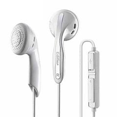billiga Headsets och hörlurar-EDIFIER K180 EARBUD Kabel Hörlurar Dynamisk Koppar Mobiltelefon Hörlur mikrofon headset