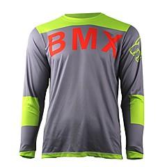 tanie Kurtki motocyklowe-letnia mądrość liście motocyklowe koszulki cross country koszulka rower górski hd zjazd na nartach jersey outdoor sports koszulka z długim