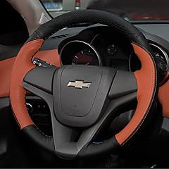 billige Rattovertrekk til bilen-Rattovertrekk til bilen Microfiber 38 cm Blå / Brun / Rød Til Chevrolet Cruze 2009 / 2010 / 2011
