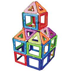 tanie Klocki magnetyczne-Blok magnetyczny Klocki 30pcs Zaokrąglanie Kwadrat Transformable Ręcznie wykonane Tradycyjny Klasyczny styl Dla dziewczynek Dla chłopców