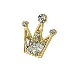 Χαμηλού Κόστους Μοδάτες Καρφίτσες-Γυναικεία Καρφίτσες - Coroană Απλός, Μοντέρνα Καρφίτσα Χρυσό / Ασημί Για Καθημερινά / Εξόδου