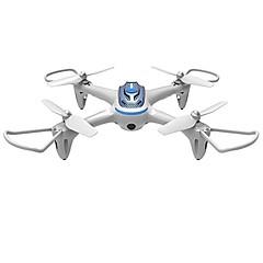 billige Fjernstyrte quadcoptere og multirotorer-RC Drone SYMA HY15W White 4 Kanaler 6 Akse 2.4G Med 0.3MP HD-kamera Fjernstyrt quadkopter WIFI FPV LED-belysning En Tast For Retur