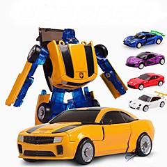 baratos -Robô Carros de Brinquedo Brinquedos Carro Tema Clássico Transformável Crianças Peças