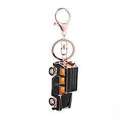 tanie Łańcuszki do kluczy-Łańcuszek do kluczy Biżuteria Black Samochód Stop Na co dzień Europejski Prezent Codzienny Męskie Damskie