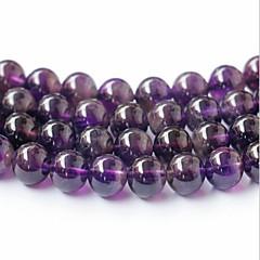 baratos Miçangas & Fabricação de Bijuterias-Jóias DIY 45 pçs Contas Cristal Roxo Redonda Bead 0.8 cm faça você mesmo Colar Pulseiras