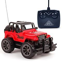 billige Fjernstyrte biler-Radiostyrt Bil 4 Kanal 2.4G Off Road Car 1:24 KM / H