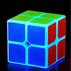 tanie Kostki Rubika-Kostka Rubika z-cube Świecąca kostka 2816 x 2112 Gładka Prędkość Cube Magiczne kostki Puzzle Cube Przeciwe stresowi i niepokojom Zabawki biurkowe Srebrzysty Klasyczny styl Świecący w ciemnościach Dla
