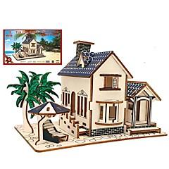 billige Puslespill i tre-Puslespill i tre Puslespill og logikkleker Arkitektur Mote Klassisk Mote Nytt Design profesjonelt nivå Focus Toy Stress og angst relief