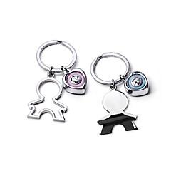 cheap Keychain Favors-Romance Keychain Favors Zinc Alloy Keychains - 2