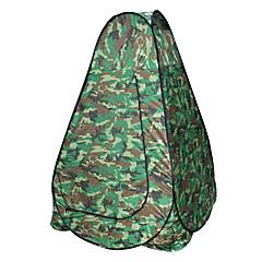 billige Telt og ly-AOXIANGZHE 1 person  utendørs Telt Vanntett Bærbar Ett Rom Dobbelt Lagdelt 2000-3000 mm Telt  til Vandring Camping Glassfiber Oxford 120*120*190 cm