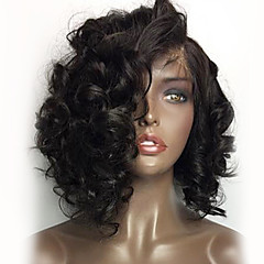 cheap Wigs & Hair Pieces-8 16 360 lace frontal human hair lace wigs with baby hair brazilian 180 density virgin human hair natural hairline loose wave short 360 lace wigs