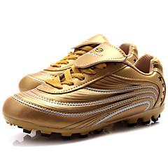 billige Fotballsko-fotball Boots Fotball klossene Fotballsko Unisex Anvendelig Mykhet Pusteevne Fritidssport Profesjonell PVC Lær Gummi Fotball