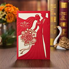 cheap Wedding Invitations-Wrap & Pocket Wedding Invitations 50pcs - Engagement Party Cards Bridal Shower Cards Baby Shower Cards Mother's Day Cards Invitation
