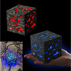 preiswerte -Minecraft Night light LED Figure Toys Animes & Manga Romantik Hochwertiger ABS-Kunststoff Jungen Mädchen Spielzeuge Geschenk 1 pcs