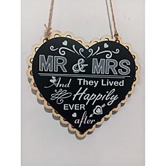 billige Bryllupsdekorasjoner-Bryllup / Engasjement Tre Bryllupsdekorasjoner Strand Tema / Eventyr Tema / Familie / Bryllup Alle årstider