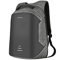 """levne Laptop Bags-Džínovina Jednobarevné Batohy 16 """"notebook"""
