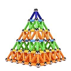 tanie Klocki magnetyczne-Blok magnetyczny Magnetyczne pałeczki Klocki 1 pcs Achitektura Interakcja rodziców i dzieci Dla chłopców Dla dziewczynek Zabawki Prezent