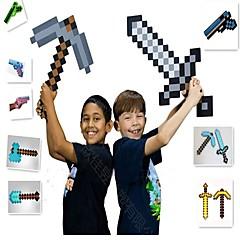 preiswerte -Minecraft Toys Sword Pick Axe Animes & Manga Einfache PEVA Jungen Mädchen Spielzeuge Geschenk 1 pcs