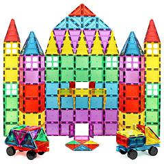 tanie Klocki magnetyczne-Płytki magnetyczne Klocki 60 pcs Wzór geometryczny Przezroczysta obudowa Dla chłopców Dla dziewczynek Zabawki Prezent