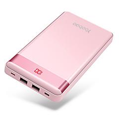 billige Eksterne batterier-20000 mAh Til Power Bank Eksternt batteri 5 V Til Til Batterilader QC 2.0 LED