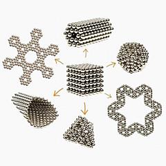tanie Zabawki magnetyczne-magnes zabawki Klocki Magiczne rekwizyty Magnes neodymowy Kulki magnetyczne 216pcs 3mm Magnes Metal Magnetyczne Kula Cylindryczny Dla obu