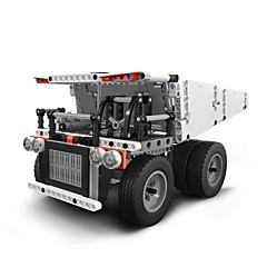 baratos -Xiaomi Mitu Block Robot Mine Truck Blocos de Construir 530pcs Interação pai-filho Caminhão Dom