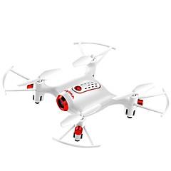 billige Fjernstyrte quadcoptere og multirotorer-RC Drone SYMA X20W  Mini Four Axis Aircraft 4 Kanal 6 Akse 2.4G Med HD-kamera 0.3MP 480P Fjernstyrt quadkopter FPV / En Tast For Retur /