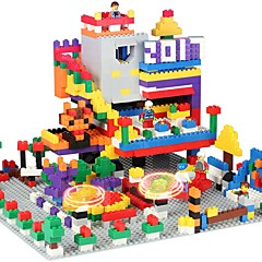baratos -Blocos de Construir 1350pcs Quadrada Tema Clássico Brinquedo Brinquedos Dom