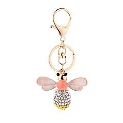tanie Łańcuszki do kluczy-Łańcuszek do kluczy Biżuteria Różowy Pszczoła Stop Na co dzień Europejski Codzienny Formalny