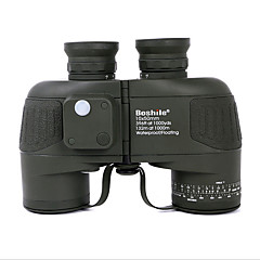 cheap Binoculars, Monoculars & Telescopes-10X50 Binoculars Range Finder Waterproof Military Tactical Compass BAK4 Fully Multi-coated 132/1000 Independent Focus Central Focusing