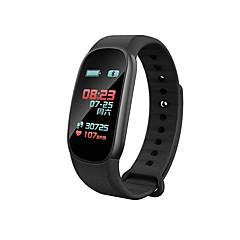 billige Smartklokker-Armbåndsur F63 til Android iOS Bluetooth Bluetooth Fitnessporing / Finger Sensor
