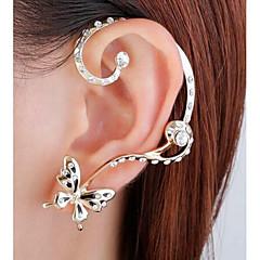 cheap Earrings-Women's Mismatch Butterfly Stud Earrings / Ear Cuff - Simple / Mismatch / Fashion Gold Earrings For Wedding / Party / Evening