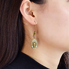 Drop Earrings - Fashion Brown For Daily Date