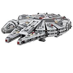 voordelige -Millennium Falcon Outer Space Ship Bouwblokken 1381pcs Klassiek Thema Compact ontwerp Geschenk