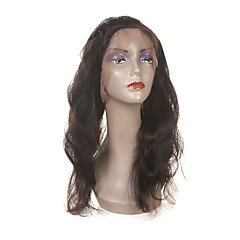 cheap Wigs & Hair Pieces-Laflare Brazilian Hair / Body Wave 360 Frontal Wavy Free Part / Middle Part / 3 Part Swiss Lace Human Hair Women's With Baby Hair / Classic / For Black Women Party / Evening / Gift / Ceremony
