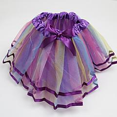 お買い得  女児 スカート-子供 女の子 パッチワーク ノースリーブ スカート