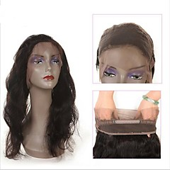 cheap Wigs & Hair Pieces-Indian Hair Wavy Human Hair Hair Weft with Closure Black Human Hair Weaves Best Quality New Arrival Human Hair Extensions Women's