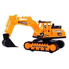 Χαμηλού Κόστους Toy Trucks & Τεχνικά Οχήματα-Όχημα κατασκευών Παιχνίδια φορτηγά και κατασκευαστικά οχήματα 1: 8 Προσομοίωση Αλληλεπίδραση γονέα-παιδιού Πλαστική ύλη 1 pcs Παιδιά Αγορίστικα Κοριτσίστικα Παιχνίδια Δώρο