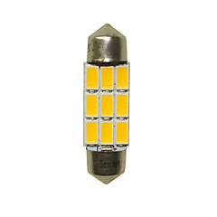 billige Interiørlamper til bil-36mm Bil Elpærer 3W SMD 5730 180-220lm 6 LED interiør Lights For Universell