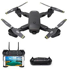billige Fjernstyrte quadcoptere og multirotorer-RC Drone DMRC DM107S 4 Kanaler 6 Akse 2.4G Med HD-kamera 1.0MP 1080P*720P Fjernstyrt quadkopter LED Lys / En Tast For Retur / Auto-Takeoff